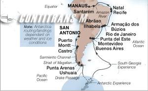 45-DAY ANTARCTICA & AMAZON ADVENTURE