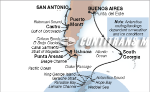 24-DAY HOLIDAY ANTARCTICA, PATAGONIA & SOUTH GEORGIA
