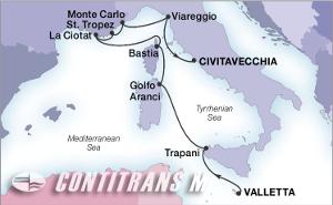 Сицилия, Корсика, Сардиния, Тоскана, Монте Карло