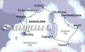 Корсика, Сардиния, Сицилия, Майорка, Френска Ривиера
