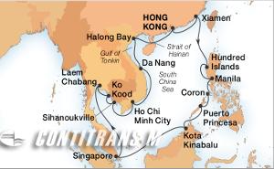 28-DAY SOUTH CHINA SEA CIRCLE