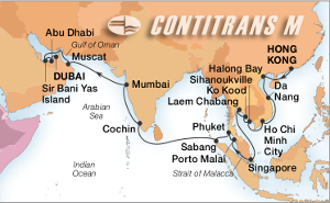 32-DAY SOUTHEAST ASIA, INDIA & ARABIA