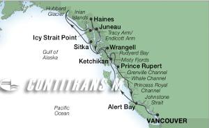 14-DAY ALASKA GLACIERS, FJORDS & INSIDE PASSAGE