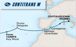 15-DAY PASSAGE TO ROME