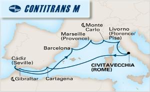 Средиземно Море - Тоскана, Френска Ривиера, Прованса, Барселона, Севиля