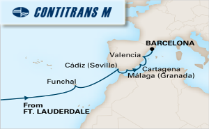 14-DAY PASSAGE TO SPAIN
