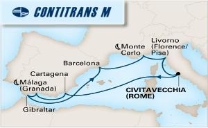 Средиземно Море - Тоскана, Френска Ривиера, Прованса, Барселона, Гибралтар