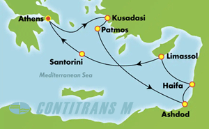 EUROPE - GREEK ISLES & EASTERN MED (PIR/PIR)