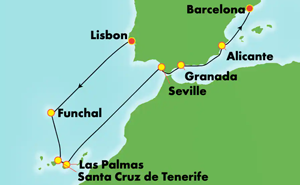 Europe - Western Mediterranean - Barcelona (LIS/BCN)