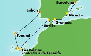 Europe - Western Mediterranean - Barcelona (BCN/LIS)