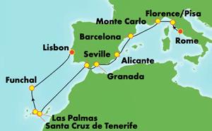 Europe - Classic Mediterranean (CIV/LIS)