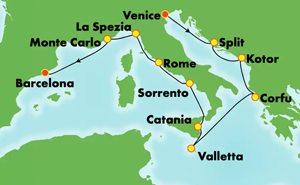 Europe - Classic Mediterranean (VCE/BCN)