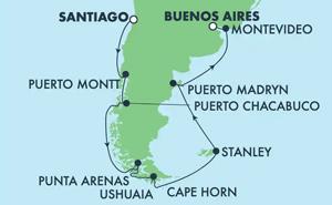 South America - Santiago (SAI/BUE)