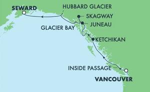 Alaska - Northbound Whittier (VAN/SWD)