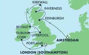 EUROPE - BRITISH ISLES (AMS/SOU)
