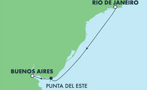 SOUTH AMERICA - BRAZIL (RIO/BUE)
