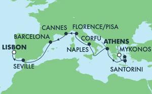 Europe - Classic Mediterranean (PIR/LIS)
