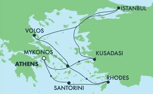 EUROPE - GREEK ISLES & EASTERN MED (PIR/PIR)
