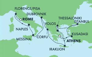 Greek Isles & Italy (PIR/CIV)