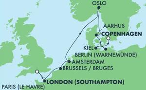 EUROPE - NORTHERN CAPITALS (SOU/CPH)