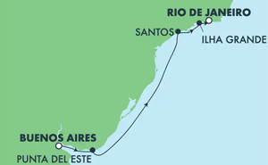 SOUTH AMERICA - BRAZIL (BUE/RIO)