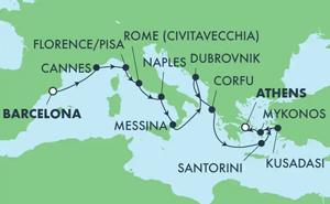 Greek Isles & Italy (BCN/PIR)