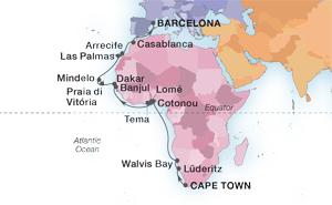 30-DAY AFRICA'S ATLANTIC COAST & CANARY ISLANDS