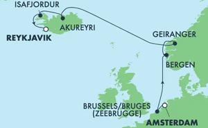 EUROPE - ICELAND (AMS/REY)