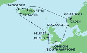 EUROPE - ICELAND (SOU/SOU)