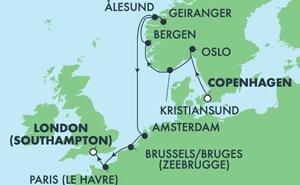 EUROPE - NORWEGIAN FJORDS (CPH/SOU)