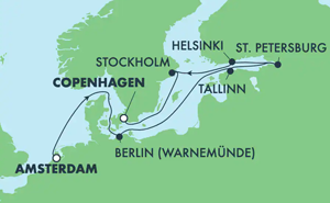 Europe - Baltic (AMS/CPH)