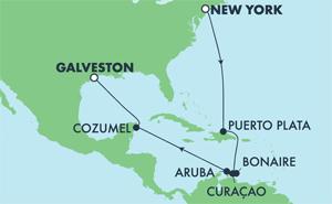 Southern Caribbean - New York (NYC/GAL)