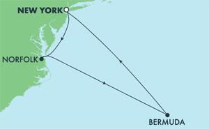 Bermuda - New York (NYC/NYC)